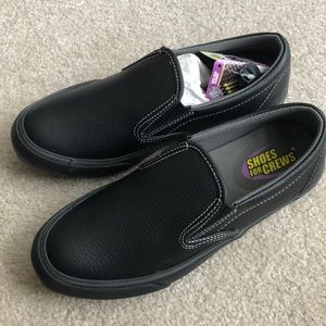 Shoes For Crew NIB Ollie Slip On with Grip Cleaner